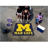 FANMATS Michigan Man Cave Tailgater Rug 5'x6'
