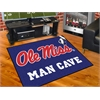 "FANMATS Mississippi - Ole Miss Man Cave All-Star Mat 33.75""x42.5"""