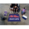 FANMATS Mississippi - Ole Miss Man Cave Tailgater Rug 5'x6'