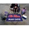 FANMATS Mississippi - Ole Miss Man Cave UltiMat Rug 5'x8'