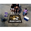 FANMATS Missouri Man Cave Tailgater Rug 5'x6'