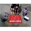 FANMATS Nebraska Man Cave Tailgater Rug 5'x6'