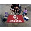 FANMATS Oklahoma Man Cave UltiMat Rug 5'x8'