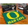 "FANMATS Oregon Man Cave All-Star Mat 33.75""x42.5"""