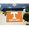 "FANMATS Tennessee Man Cave Starter Rug 19""x30"""