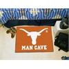 "FANMATS Texas Man Cave Starter Rug 19""x30"""