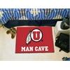 """FANMATS Utah Man Cave Starter Rug 19""""x30"""""""