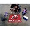 FANMATS Utah Man Cave Tailgater Rug 5'x6'