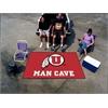 FANMATS Utah Man Cave UltiMat Rug 5'x8'