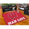 "FANMATS Wisconsin Man Cave All-Star Mat 33.75""x42.5"""