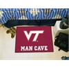 "FANMATS Virginia Tech Man Cave Starter Rug 19""x30"""
