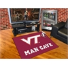 "FANMATS Virginia Tech Man Cave All-Star Mat 33.75""x42.5"""