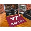 """FANMATS Virginia Tech Man Cave All-Star Mat 33.75""""x42.5"""""""