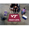 FANMATS Virginia Tech Man Cave Tailgater Rug 5'x6'