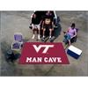 FANMATS Virginia Tech Man Cave UltiMat Rug 5'x8'