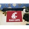 "FANMATS Washington State Man Cave Starter Rug 19""x30"""