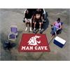 FANMATS Washington State Man Cave Tailgater Rug 5'x6'