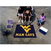 FANMATS West Virginia Man Cave Tailgater Rug 5'x6'