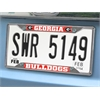 "FANMATS Georgia License Plate Frame 6.25""x12.25"""