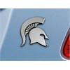 """FANMATS Michigan State Emblem 2.1""""x3.2"""""""