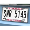 """FANMATS Ohio State License Plate Frame 6.25""""x12.25"""""""
