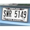 """FANMATS NBA - Portland Trail Blazers License Plate Frame 6.25""""x12.25"""""""