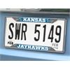 """FANMATS Kansas License Plate Frame 6.25""""x12.25"""""""