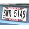 "FANMATS Wisconsin License Plate Frame 6.25""x12.25"""