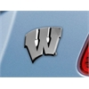 "FANMATS Wisconsin Emblem 3""x3.2"""