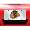 "FANMATS NHL - Chicago Blackhawks License Plate Inlaid 6""x12"""