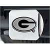 "FANMATS Georgia Hitch Cover 4 1/2""x3 3/8"""