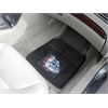 "FANMATS Gonzaga Heavy Duty 2-Piece Vinyl Car Mats 17""x27"""