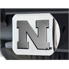 "FANMATS Nebraska Hitch Cover 4 1/2""x3 3/8"""