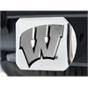 "FANMATS Wisconsin Hitch Cover 4 1/2""x3 3/8"""