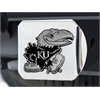 "FANMATS Kansas Hitch Cover 4 1/2""x3 3/8"""