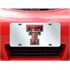 "FANMATS Texas Tech License Plate Inlaid 6""x12"""