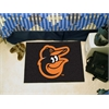 "FANMATS MLB - Baltimore Orioles Cartoon Bird Starter Rug 19""x30"""