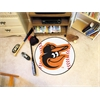 "FANMATS MLB - Baltimore Orioles Cartoon Bird Baseball Mat 27"" diameter"
