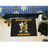 """FANMATS West Virginia State Starter Rug 19""""x30"""""""