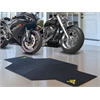 "FANMATS West Virginia Motorcycle Mat 82.5"" L x 42"" W"