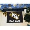 "FANMATS VCU Man Cave Starter Rug 19""x30"""