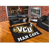 "FANMATS VCU Man Cave All-Star Mat 33.75""x42.5"""
