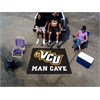 FANMATS VCU Man Cave Tailgater Rug 5'x6'