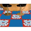 "FANMATS Coast Guard Carpet Tiles 18""x18"""