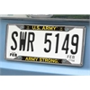 "FANMATS Army License Plate Frame 6.25""x12.25"""