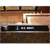 """FANMATS Navy Drink Mat 3.25""""x24"""""""