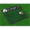 """FANMATS Navy Golf Hitting Mat 20""""x17"""""""