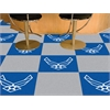 "FANMATS Air Force Carpet Tiles 18""x18"""