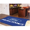 FANMATS Ford Racing Rug 5'x8' - Blue