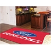 FANMATS Ford Racing Rug 5'x8' - Red